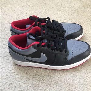 Nike Air Jordan 1 Low Top Men's Shoes Size 9.5